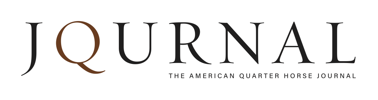 The American Quarter Horse Journal logo