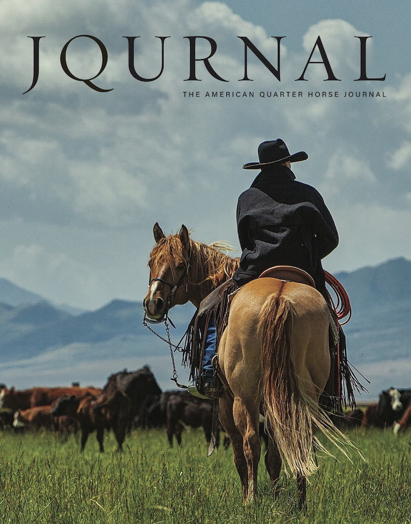 September-October 2020 cover of The American Quarter Horse Journal