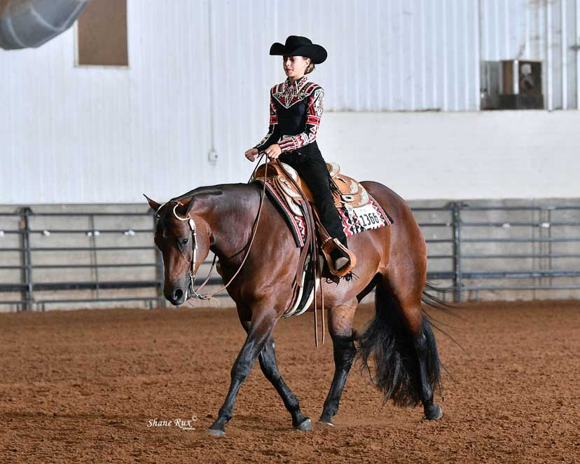 Level 2 horsemanship Sweet Made and Piper Keller