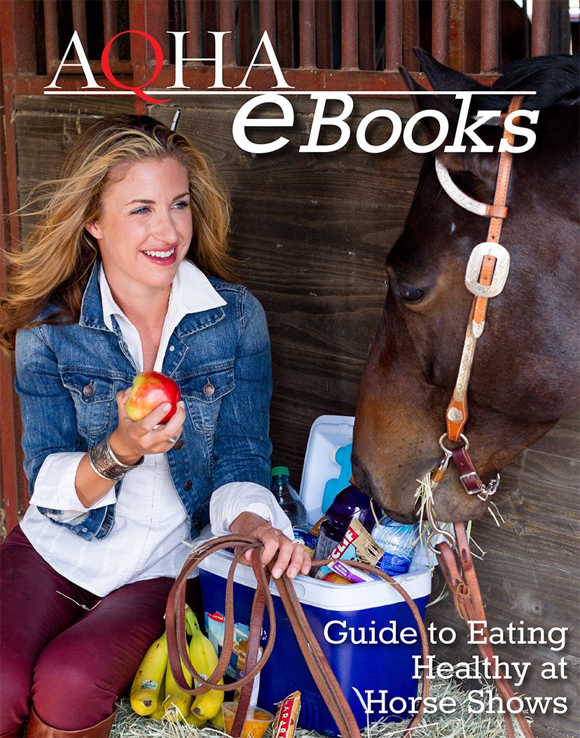 Guide to Healthy Eating at Horse Shows free e-book cover